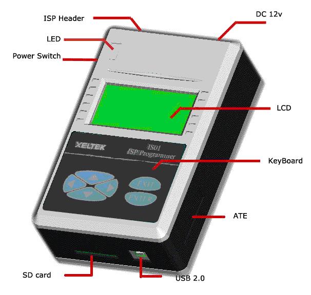 857ba6686 Xeltek SuperPro IS01 In-System (ISP) Programmer