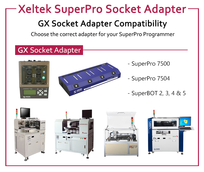 Xeltek CX & DX Adapter